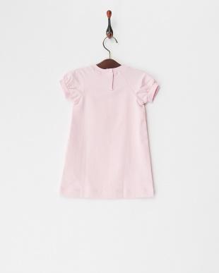 ピンク サイドフリルローズワンピース(12M~)を見る