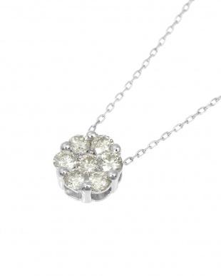 K18WG 天然ダイヤモンド 計0.3ct セブンストーンペンダントを見る