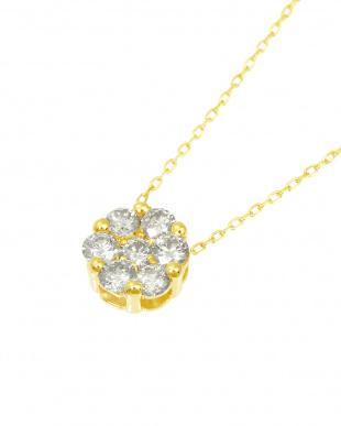 K18YG 天然ダイヤモンド 計0.3ct セブンストーンペンダントを見る