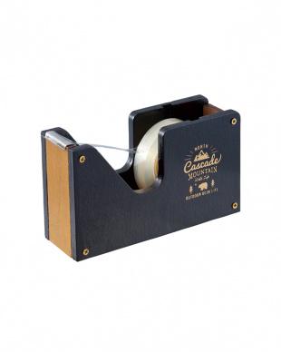 ブラック OUTDOOR LIFE テープカッター 2個セット見る