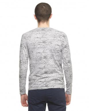 グレー メランジカラー長袖Tシャツを見る