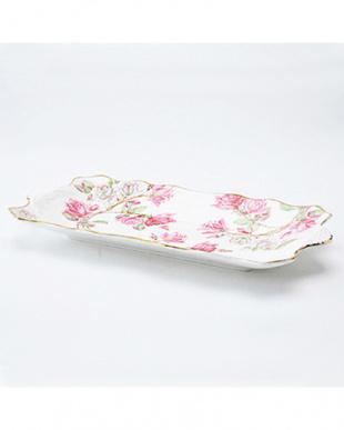 エリザベスローズ ピンク サンドイッチ トレイを見る