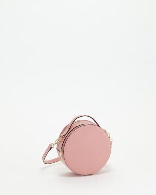 ピンク サークルハンドバッグ見る