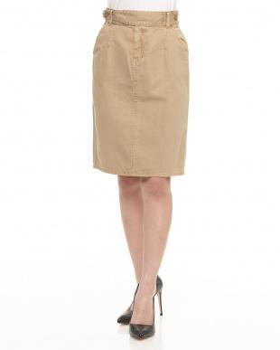 カーキ ミリタリータイトスカートを見る