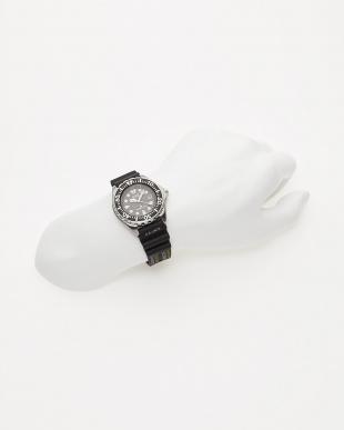 ブラック Eco-Drive ラバーバンド時計│MENを見る