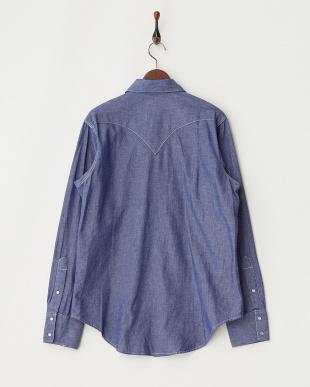 LT.blue Rockmount レギュラーフィットシャツ見る