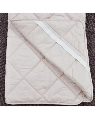 ピンク [ダブル]合繊敷きパッド 家庭洗濯可能を見る
