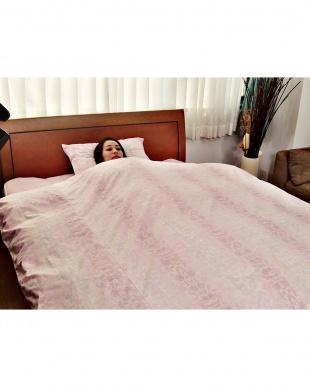 ピンク [シングル]しわになりにくい掛けカバー・ピロケースセットを見る