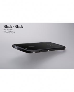 ブラック iPhone 8 Plus / 7 Plus用 アルミバンパー Cleave見る