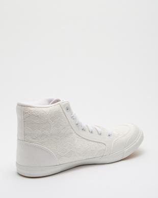 White/Lace INOMER HI F スニーカー見る