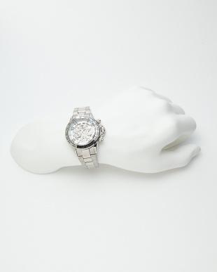 シルバー/ホワイト 機械式腕時計 003|MENを見る