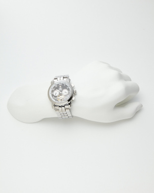 ブラック/ホワイト 機械式腕時計 008|MENを見る