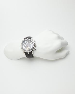 シルバー/ブラック 機械式腕時計 033|MENを見る