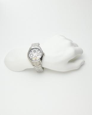 シルバー/ブラック 機械式腕時計 043|MEN見る