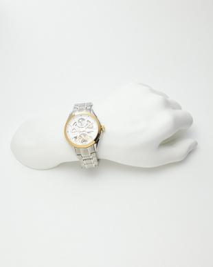 ゴールド/ホワイト 機械式腕時計 043|MEN見る