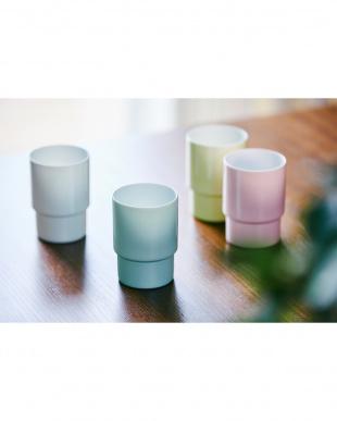ピンク Glass cup egg shell(エッグシェル)3個セットを見る