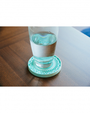 ブルー 珪藻土コースター Plus デザイン 4枚セットを見る
