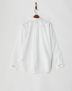 オフホワイト [防虫][UVカット]シャンブレー シャツ L/S|MENを見る