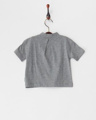グレー 26/-テンジクハイネック5ブソデTシャツを見る