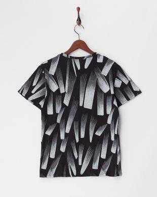 ブラック グラデーションプリントTシャツを見る