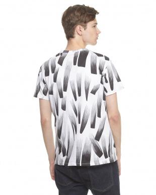 ホワイト グラデーションプリントTシャツを見る