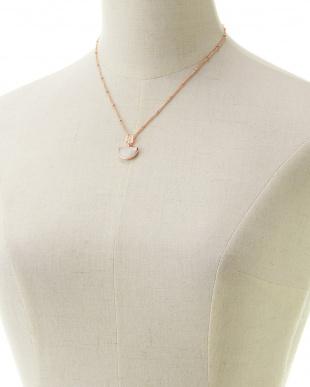 ムーン 三日月型ネックレスを見る