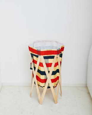 チェック×ナチュラル ナチュラルな洗濯かご Laundry Hamper(ランドリーハンパー)見る