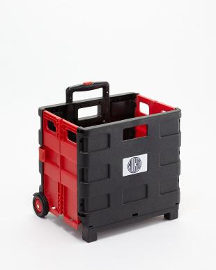 Black+Red Black+Red 折り畳みキャリーカートを見る