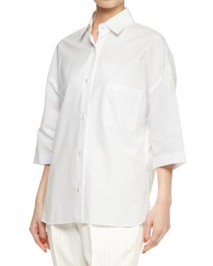 ホワイト タイプライタービッグシャツを見る