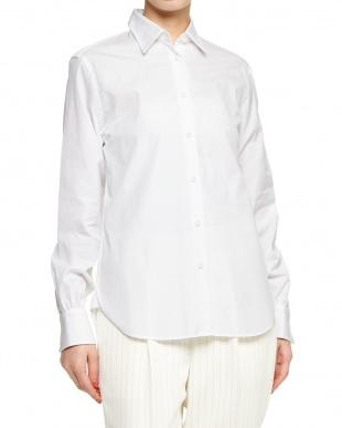 15 ホワイト THOMAS MASON ブロードシャツを見る