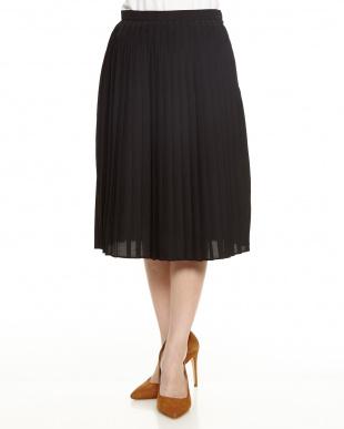 95 ブラック クリアデシンプリーツスカートを見る