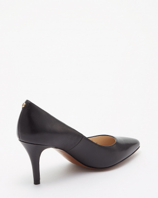 BLACK LEATHER GEMMA LOGO PUMP(PRIETA PUMP II)を見る
