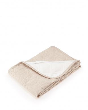 ブラウン 詰めものも全て「麻」 本麻敷きパッド シングル 約100×205cm見る