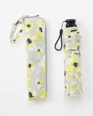 FLOWER_GY×Y FLOWER 4段折りたたみ傘 晴雨兼用見る