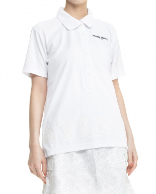 NV レディス 吸汗速乾&UVカット フラワーラバーptハンソデシャツを見る