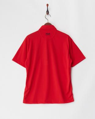 RD メンズ トリコロール 刺繍入りポロシャツ 吸汗速乾 UVカットを見る
