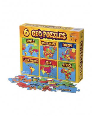 GEOパズル 6個パックを見る