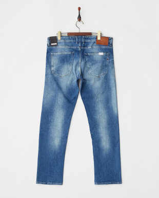 INDIGO GROVER 12.5 OZ BRIGHT REDCAST STRETCH DENIMを見る