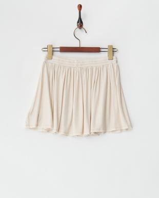 ECRU FLASHY ラメスカート見る