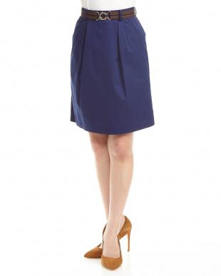 BLUE Haゴムベルトタイトスカートを見る