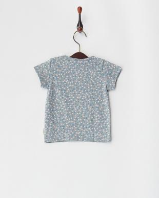 グレー 天竺モザイクドットPT ベビーS/S Tシャツを見る