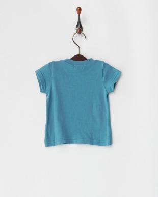 ブルー サークルエアー天竺 ロゴPT ベビーS/S Tシャツを見る