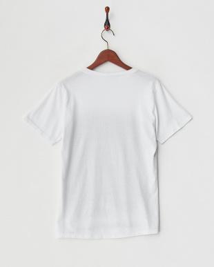 グレー アニマルフェイスプリントTシャツを見る