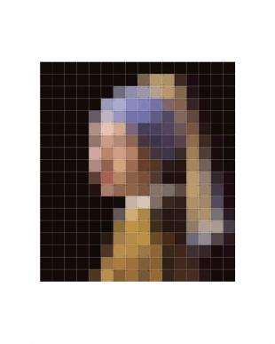 IXXI ウォールピクチャー ピクセルパールイヤリング 160×180cm見る