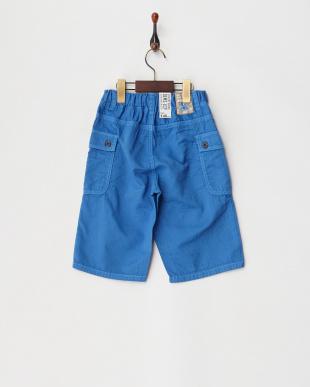 ブルー 二重織りリップハーフパンツ(ジュニアサイズ)を見る