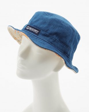 ベージュ ALOHA FABRIC×DENIM RV HATを見る