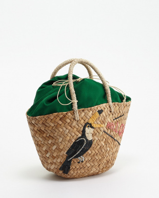 BIRD EMBROIDERY TOTEを見る