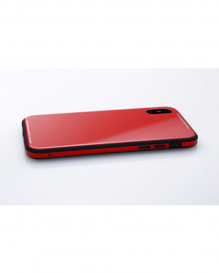 レッド Hybrid Case UNIO for iPhone X見る