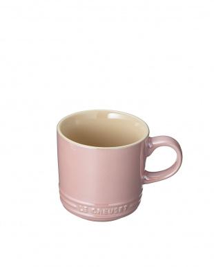 ピンクラスター マグカップ(フタ付き)見る