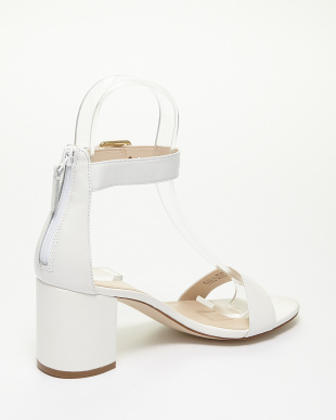 OPTIC WHITE LEATHER CLARETTE SANDAL IIを見る
